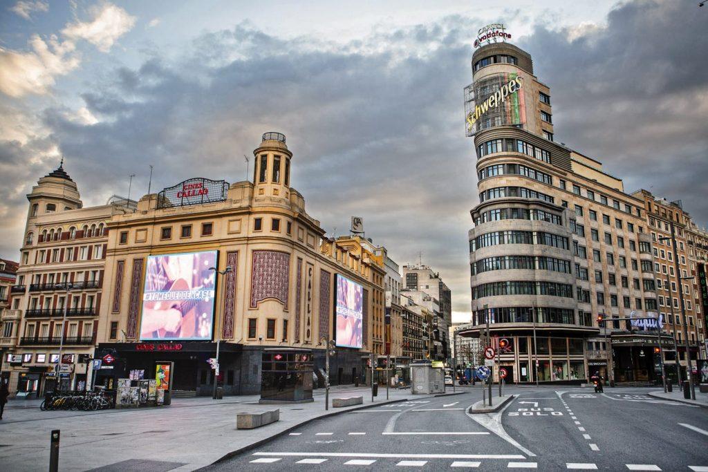 Gran Via Madrid, España