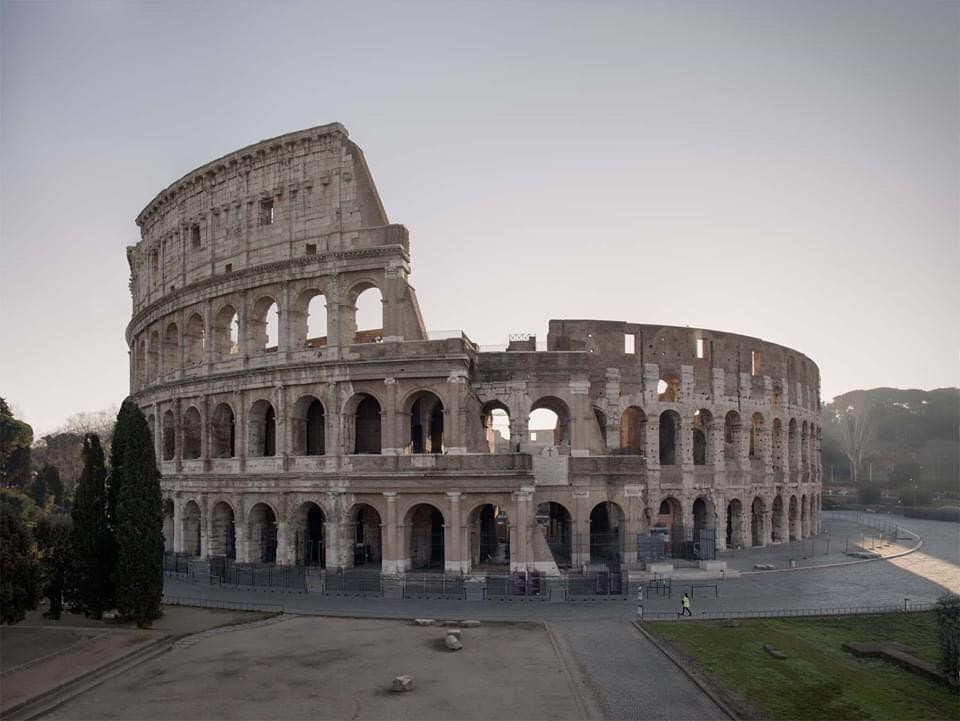Coliseo Romano. Italia
